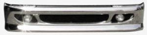 画像1: 新型エアロ2tグリルメッシュタイプメッキバンパー(標準)